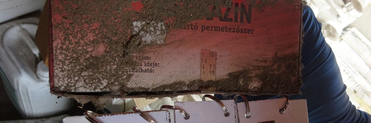 Több mint 2,2 tonna növényvédő szert foglalt le a Nébih